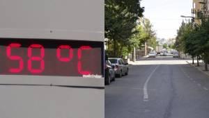 Şanlıurfa sıcaklarla boğuşuyor