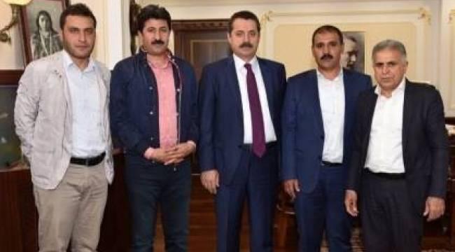 Şanlıurfaspor'dan Bakan Çelik'e destek