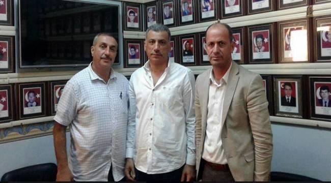 Şehit babasından Başkan Yavuz'a ziyaret