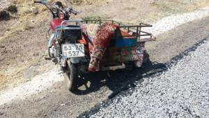 Sepetli Motor Takla attı, 2 Yaralı