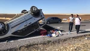 Siverek-Hilvan yolunda feci kaza, 1 ölü 4 yaralı