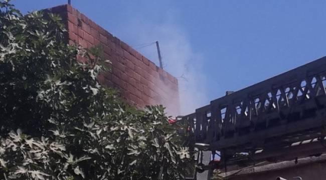 Siverek'te ev yangını korkuttu