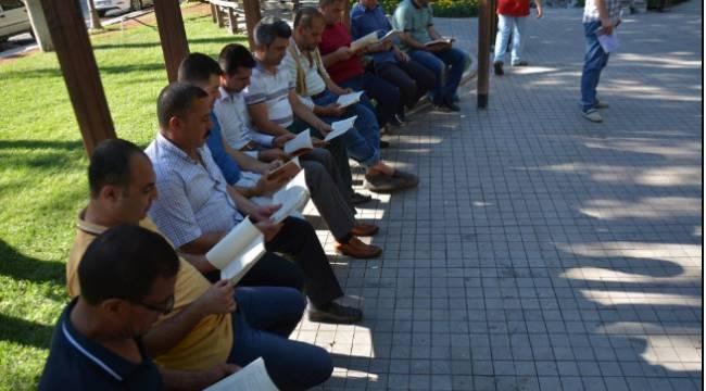 Siverek'te kitap okuma etkinliği düzenlendi