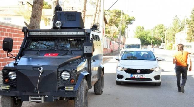 Suriye Sınırında araçlar didik didik aranıyor