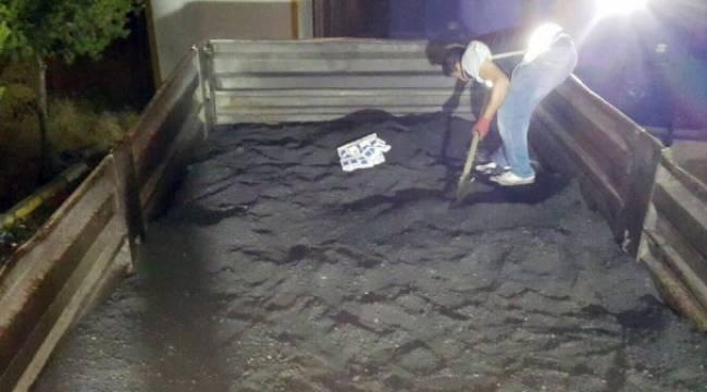 Toz kömürün altından kaçak sigara çıktı