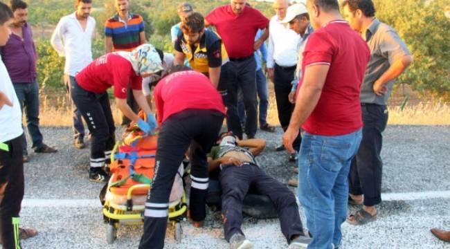 Tülmen'de Kaza 4 Yaralı