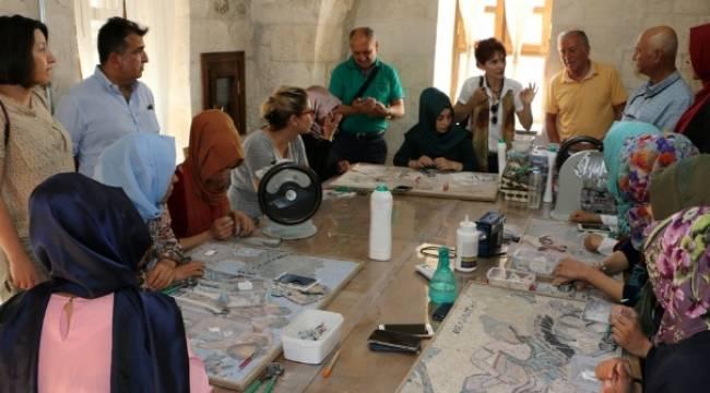 Uluslararası mozaik çalıştayı Şanlıurfa'da yapılacak-Videolu Haber