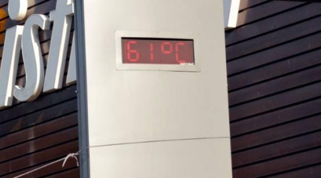 Urfa'da 63 derece Hava sıcaklığına 2 derece kaldı