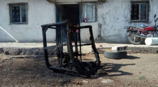 Urfa'da dondurmacı faciayı önledi