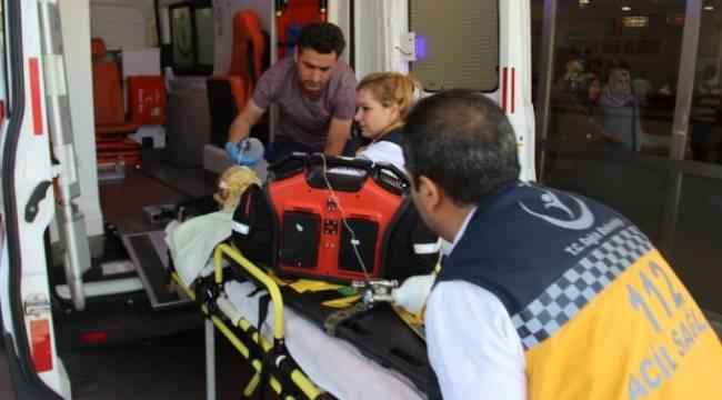 Urfa'daki Kazada anne ve baba ağır yaralandı,2 yaşındaki çocuk öldü