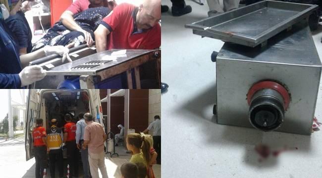 Urfalı Genç Kadın Kolunu kıyma makinesine kaptırdı