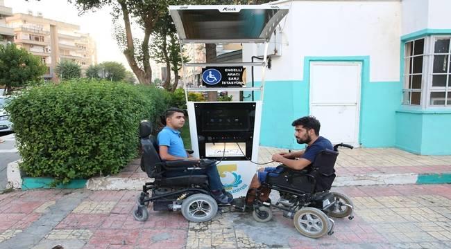 5 Farklı Bölgeye Engelli Şarj İstasyonu Kuruldu-Vidoelu Haber