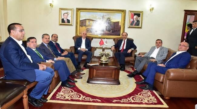 Ak Parti Genel Başkan Yardımcısı Şanlıurfa'da