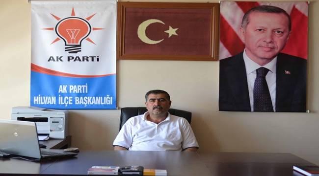 AK Parti Hilvan Başkanı görevi bırakıyor