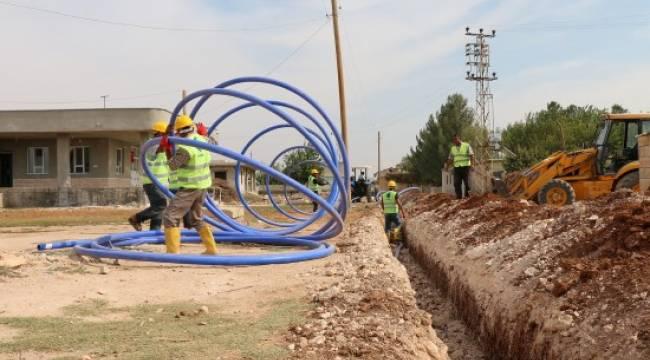Altı ayda 52 bin 300 metre içme suyu hattı döşendi - Video