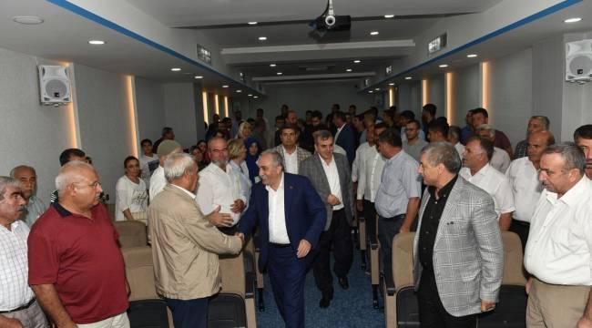 Bakan Fakıbaba, Birecik kanaat Önderleri ile bir araya geldi