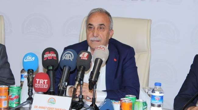 Bakan Fakıbaba'dan Kurban Satıcılarına Müjde