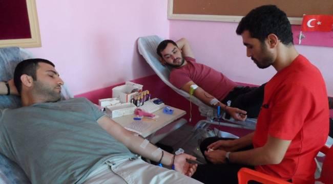 Ceylanpınar'da Kan Bağışı Kampanyası