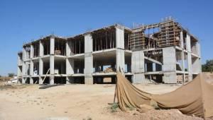 Ceylanpınar'da Kız Yurdu inşaatı devam ediyor-Videolu Haber