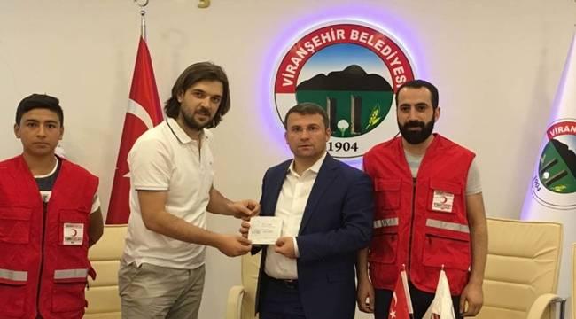 Çimşit'ten Türk Kızılay'ına Kurban Bağışı