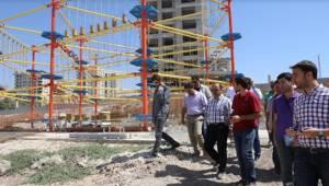 Çocuk ve Gençlik Oyun Dünyası inşaatı sürüyor-Videolu Haber