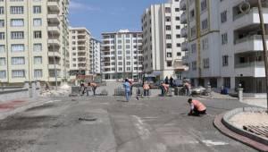 Doğukent'te Yollar Kilitli Parkeyle Döşeniyor-Videolu Haber
