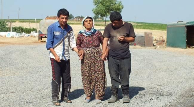 Engelli çocukları olan ailenin yolu asfaltlandı-Videolu Haber