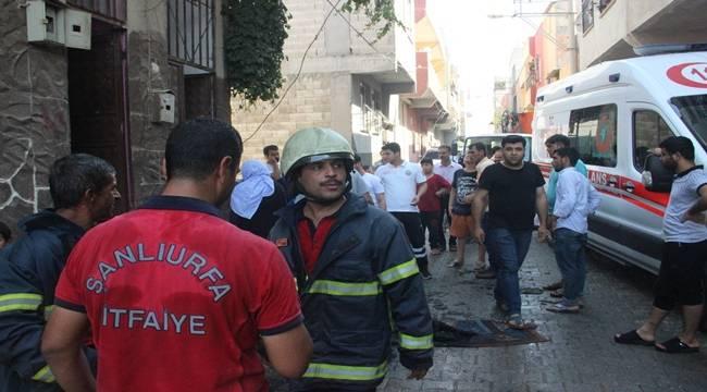 Eyyübiye'de yangın 3 kişi etkilendi