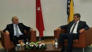 Fakıbaba, Bosna Hersek Bakanlar Kurulu Başkanı ile görüştü