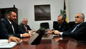 Fakıbaba, Bosna Hersekli Bakan Edin Ramic'i ziyaret etti
