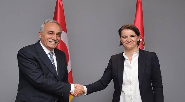 Fakıbaba Sırbıstan Başbakanı ve Cumhurbaşkanı ile görüştü