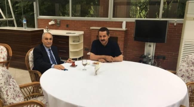 Halef ve Selef Bakanlar bir araya geldi