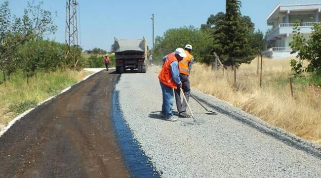 Hilvan'da 60 km'lik asfalt çalışması-Videolu Haber