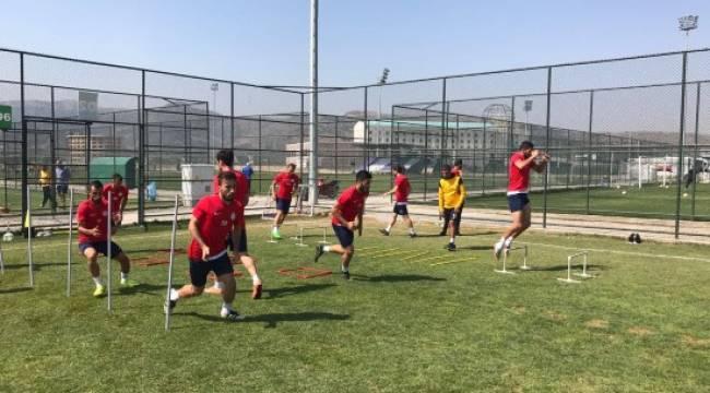 Karaköprü Belediyespor'da Afyon kampı sona erdi