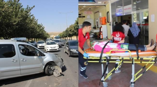 Karaköprü'de Biri Zincirleme 2 Kaza 4 Yaralı