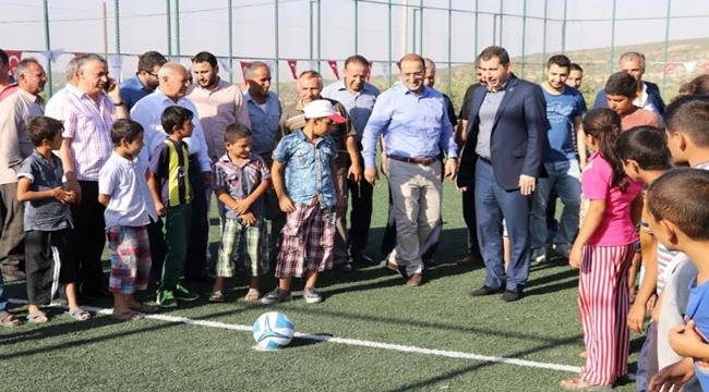 Karaköprü Kırsalında Gençlere Spor Yatırımı-Videolu Haber
