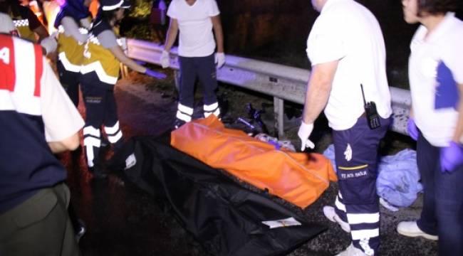 Karşı şeride geçen tır, 6 kişilik Urfalı aileyi yok etti