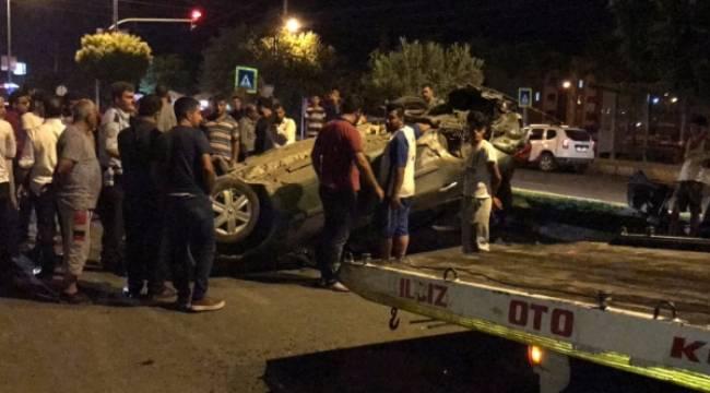 Köylü kent Kavşağında kaza, 3 Yaralı