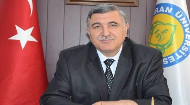 Rektör Taşaltın'dan bayram kutlaması
