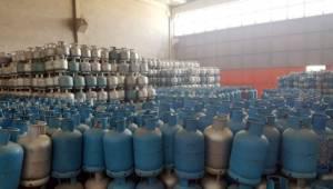 Şanlıurfa'da 7 bin adet kaçak tüp ele geçirildi