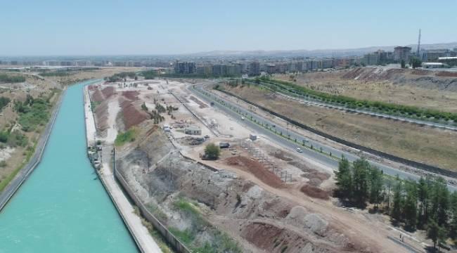 Şanlıurfa'nın en büyük yeşil alan projesi-Videolu Haber