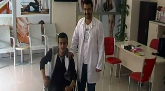 Şırnaklı Hasta Urfa'daki tedavi ile Yürümeye Başladı