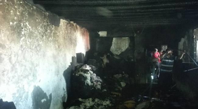 Siverek Kırsalında yanan ev küle döndü