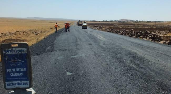 Siverek sıcak asfaltla buluşuyor-Videolu Haber