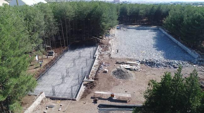 Siverek'te Olimpik Yüzme Havuzunun temeli atıldı