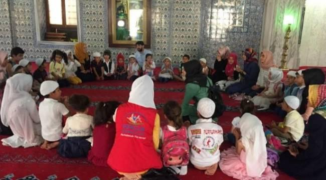 Urfa'da Camiler çocuk sesleri ile şenleniyor