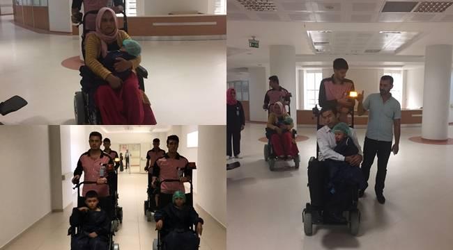 Urfa'da Hastalar Akülü Araç İle Taşınıyor-Videolu Haber