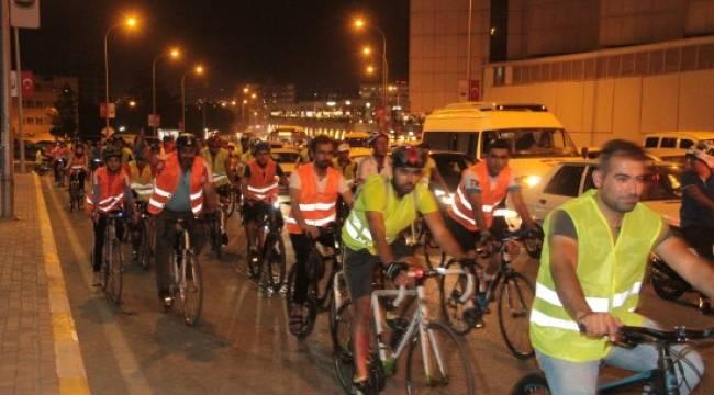 Urfa'da kardeşlik ve spor için pedal çevirdiler
