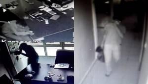 Urfa'da Sürücü Kursuna Hırsız Girdi