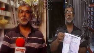 Urfa'da Tüketim 20 lira 150 lira elektrik faturası çıkıyor-Videolu Haber